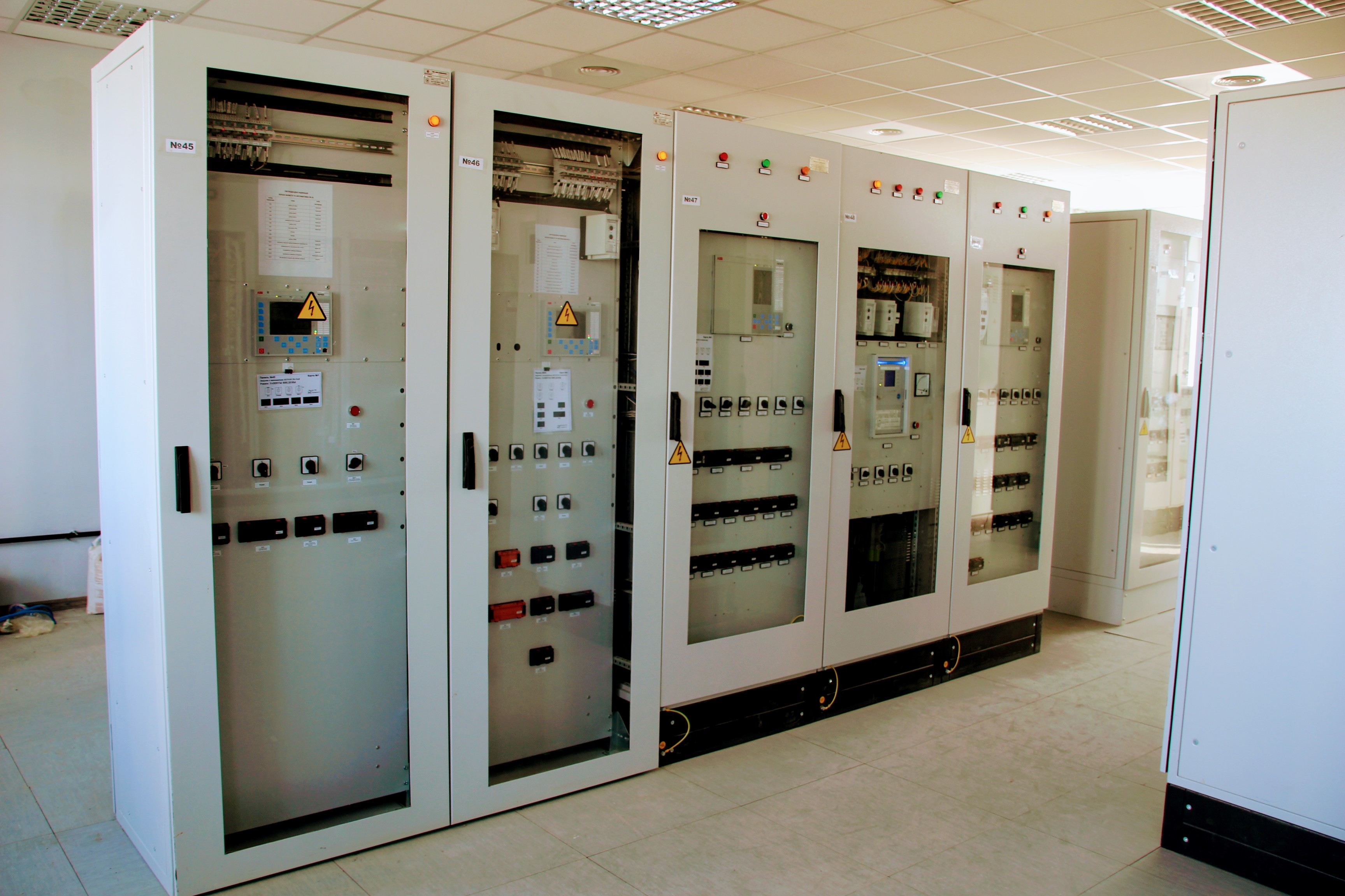The implementation of work on the automated process control systems set up at the Syvash 330 kV substation